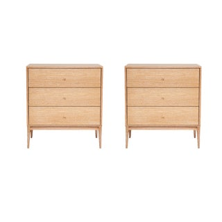 Vasily Three-Drawer Dressers - a Pair For Sale