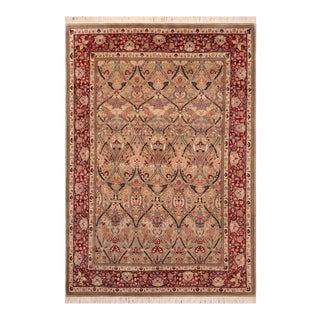 Art Nouveau William Morris Pak Persian Henry Wool Area Rug For Sale