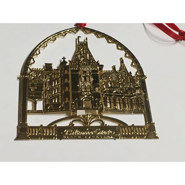 Biltmore Estate Christmas Tree Ornament For Sale - Image 9 of 9