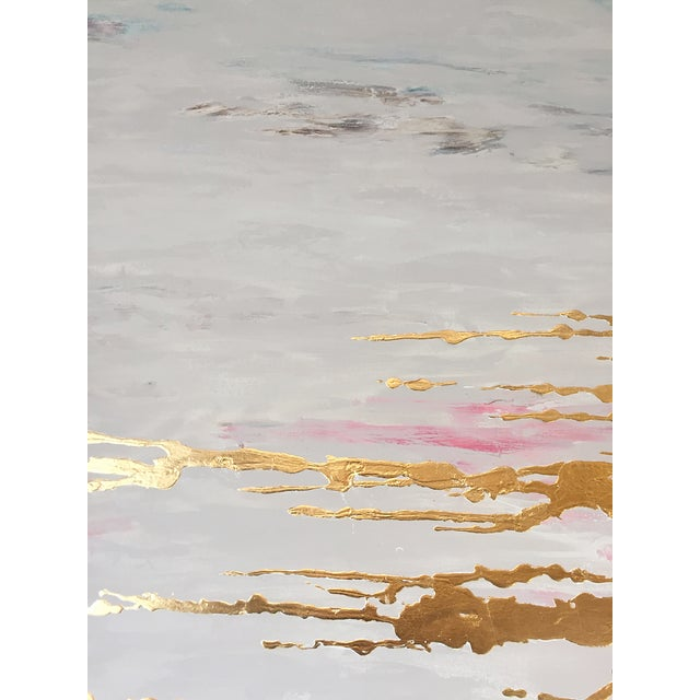 Metallic Commissioned Original Abstract Painting - Image 5 of 8
