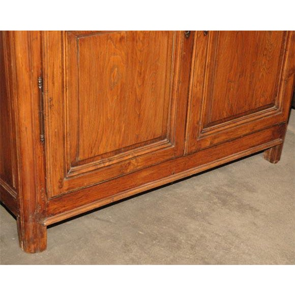 Antique Fruitwood Armoire For Sale - Image 4 of 7