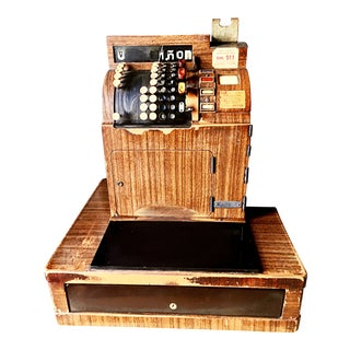 1940s National Register Cash Register For Sale