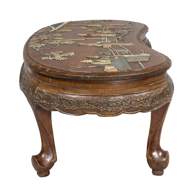 Chinese Hardstone Mounted Coffee Table For Sale - Image 4 of 13