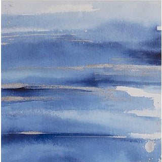 "Julia Contacessi ""Water Essence No. 1"" Contemporary Abstract Mixed Media Painting For Sale"