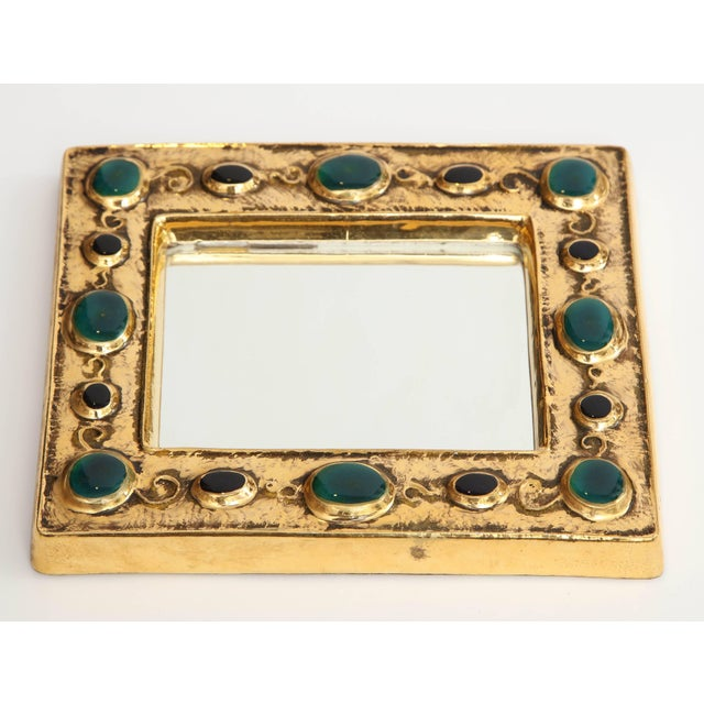 Mid-Century Modern Mirror by Francois Lembo For Sale - Image 3 of 8
