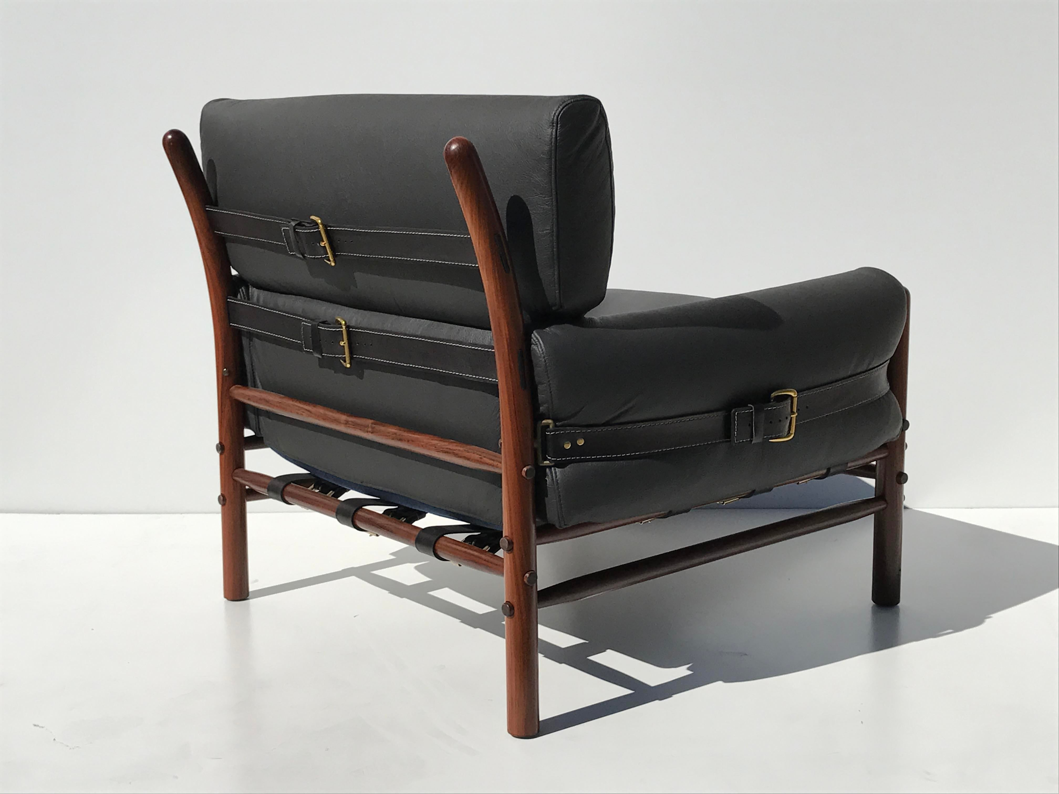 Pair Of Arne Norell Kontiki Safari Lounge Chairs For Sale In Los Angeles    Image 6