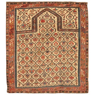 Antique 19th Century Caucasian Shirvan Rug For Sale