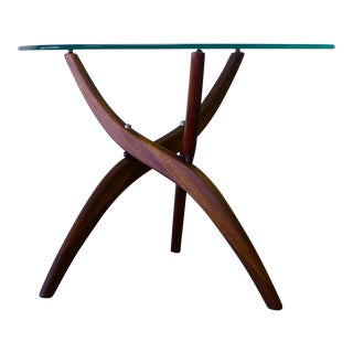 Forest Wilson Rosewood & Glass Coffee Table