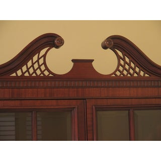 Drexel Beveled Glass 4 Door Mahogany Breakfront Preview