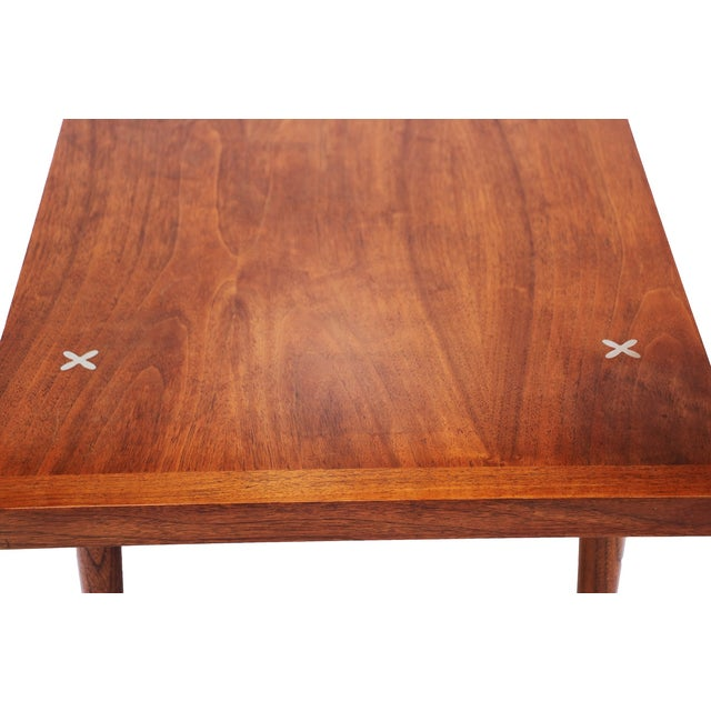 American of Martinsville Walnut Coffee Table - Image 5 of 6