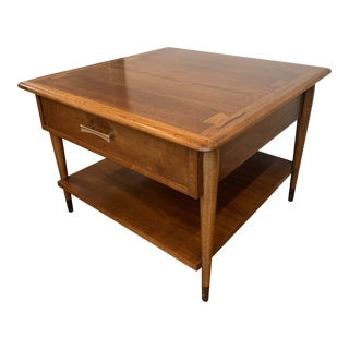 MCM Lane Acclaim Square Side Table For Sale