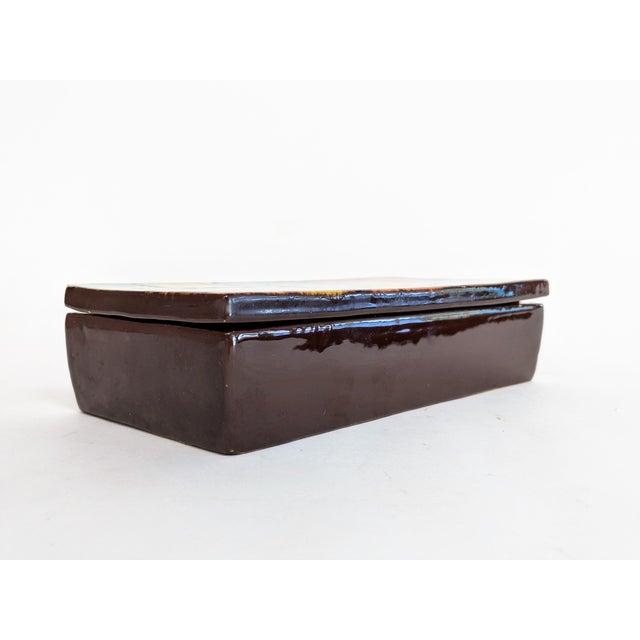 Italian Raymor Ceramic Box - Image 6 of 9