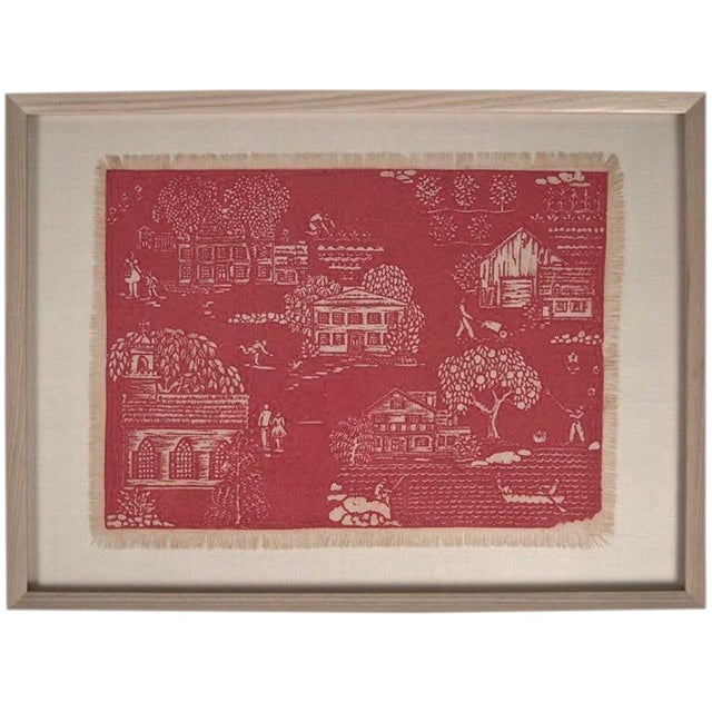"""Folly Cove """"Head of the Cove"""" Hand Block Print For Sale"""
