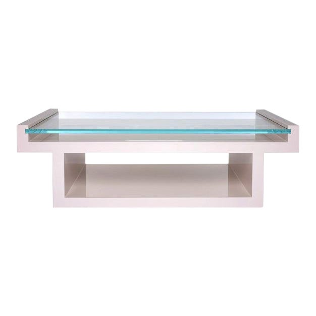 Contemporary Hinge Coffee Table For Sale