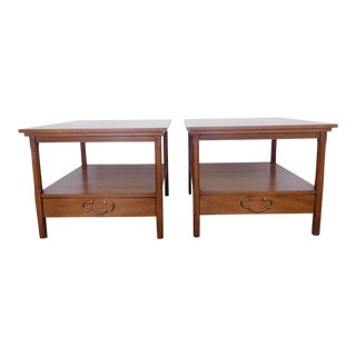 Vintage American of Martinsville Side Tables - a Pair For Sale