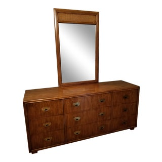 Drexel Mid-Century Heritage Passage Dresser & Detachable Mirror