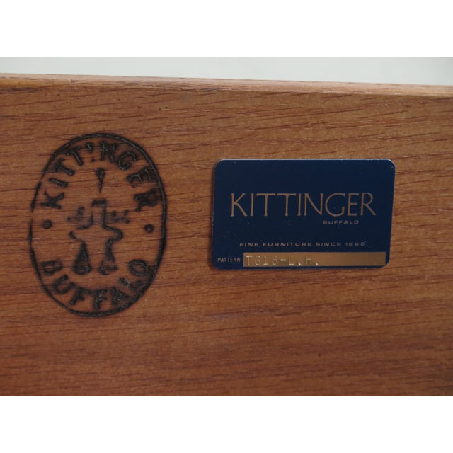 Kittinger Mahogany Bookcase Display Cabinet For Sale - Image 10 of 11