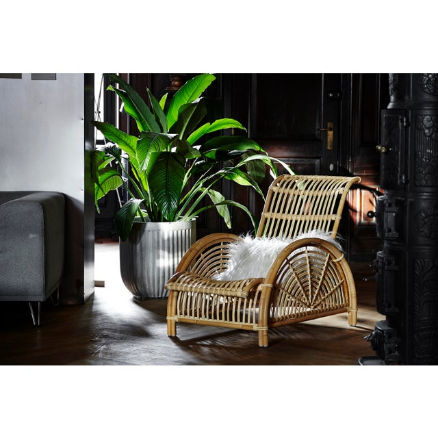 Not Yet Made - Made To Order Arne Jacobsen Paris Chair - Natural For Sale - Image 5 of 13