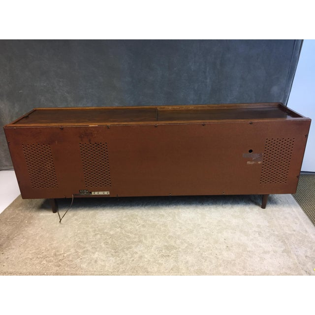 Mid Century Modern Magnavox Console Record Player For Sale - Image 11 of 11