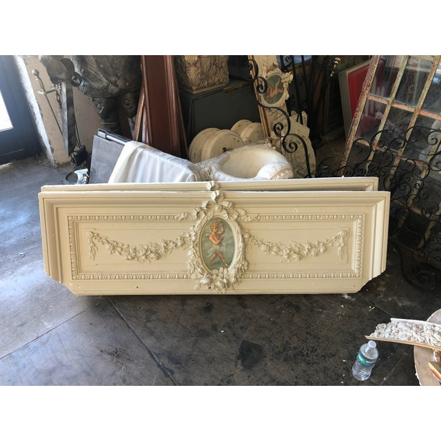 Cherub Plaster Relief For Sale - Image 12 of 13