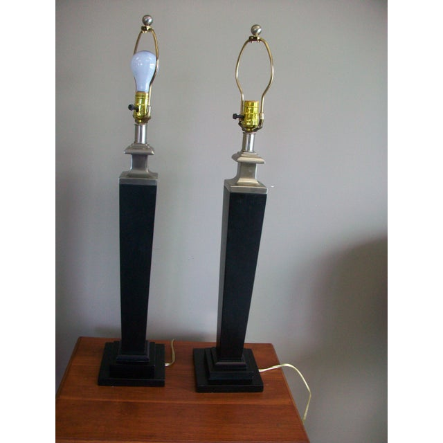 Tyndale Contemporary Lamps - a Pair - Image 4 of 6