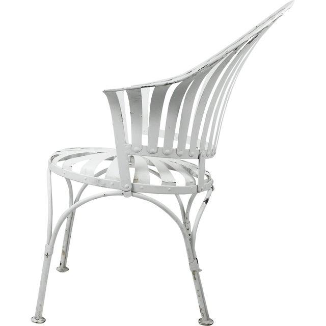 Francois Carre Vintage Fan Back Patio Armchair - Image 10 of 11