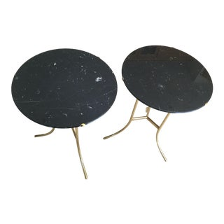 1960s Minimalist Cedric Hartman Tables - a Pair For Sale