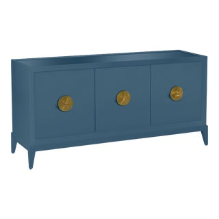 Casa Cosima Hayes Sideboard, Van Deusen Blue For Sale