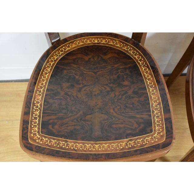 Italian Game Table Set For Sale - Image 9 of 11