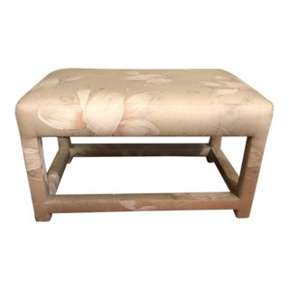 Milo Baughman Parsons Bench or Footstool For Sale