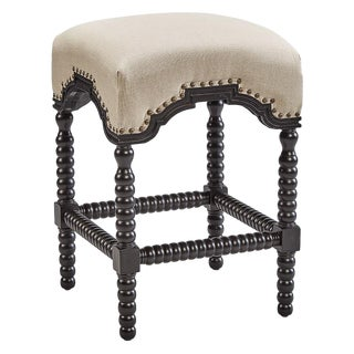 Castle Counter Stool, Black For Sale