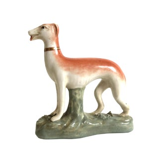 Vintage Ceramic Greyhound Figurine
