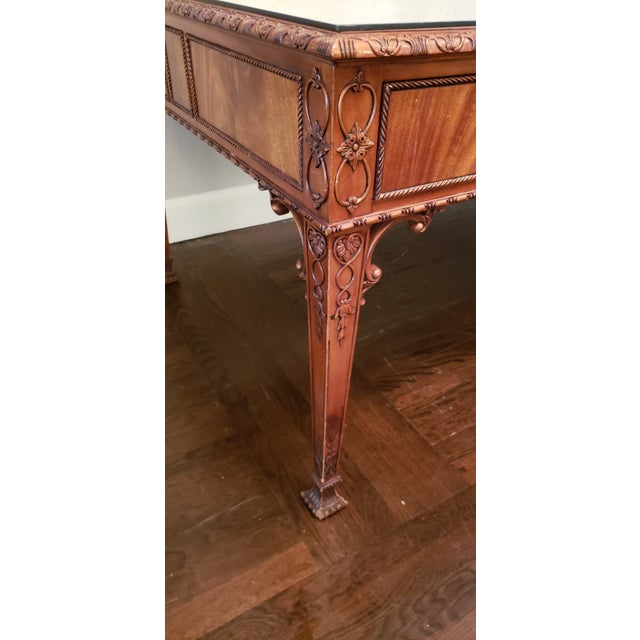 English Ornate Writing Desk For Sale In New York - Image 6 of 8