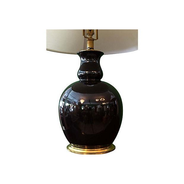 Ralph Lauren Malin Ming Black Jug Lamp - Image 3 of 9