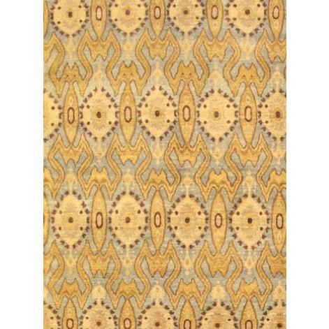 "Pasargad's Ikat Wool Area Rug - 2' 9"" x 9'10"" - Image 2 of 2"