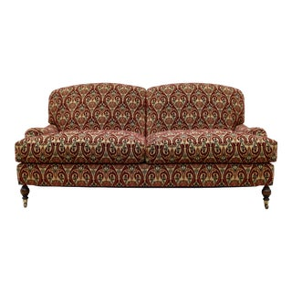 Brunschwig & Fils English Sherwood Sofa on Casters For Sale