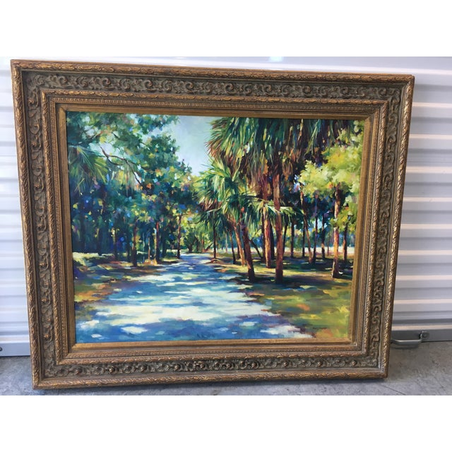 Lowcountry Landscape Oil Painting - Image 2 of 7