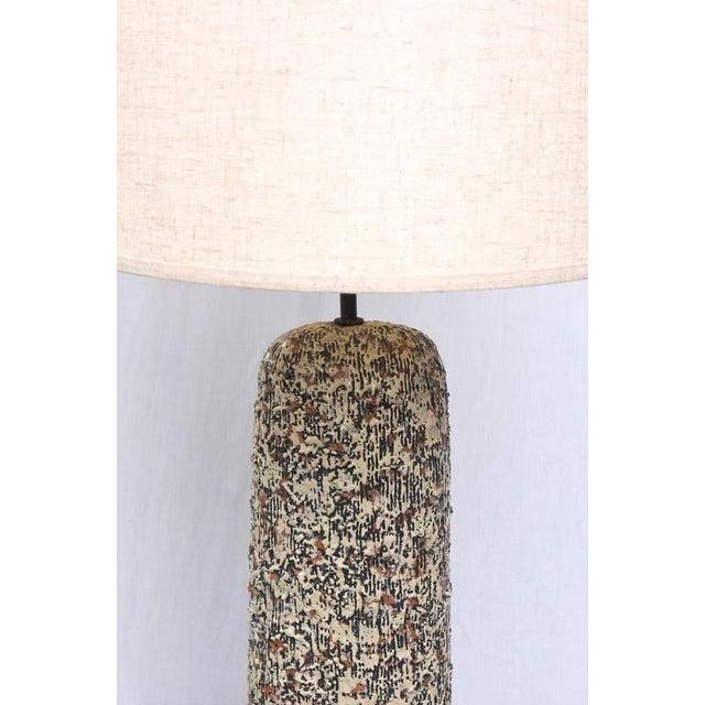 Beautiful Sargeri Ceramic Mid-Century Modern Lamp, 1950s, Usa For Sale In Miami - Image 6 of 9