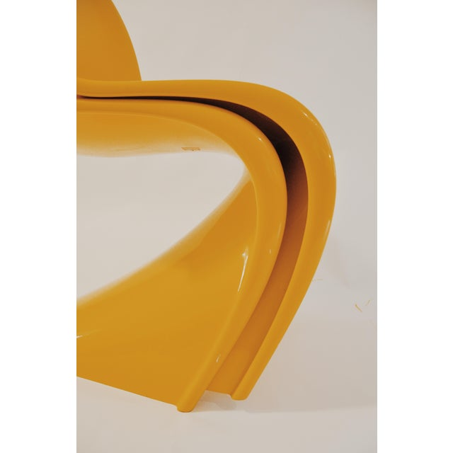 "Verner Panton ""S"" Chair - Set of 4 For Sale - Image 5 of 11"