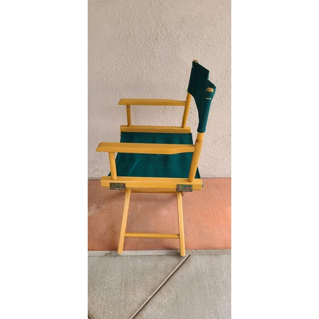 Art Deco Late 20th Century Director's Chair For Sale - Image 3 of 11