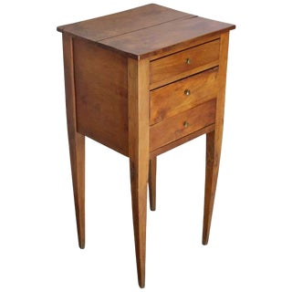 Late 18th Century Antique Provincial Directoire Period Side Table For Sale