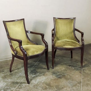 Pair Mid-Century French Armchairs Preview