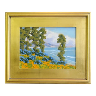 M. Graison, California Plein Air Santa Barbara Coastal Oil Painting