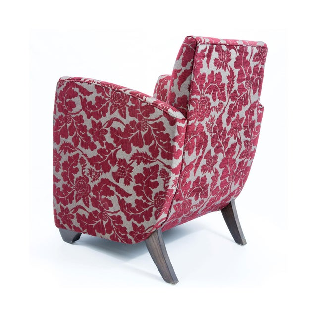 British Airways First Class Club Chair in Red Vine - Image 8 of 10