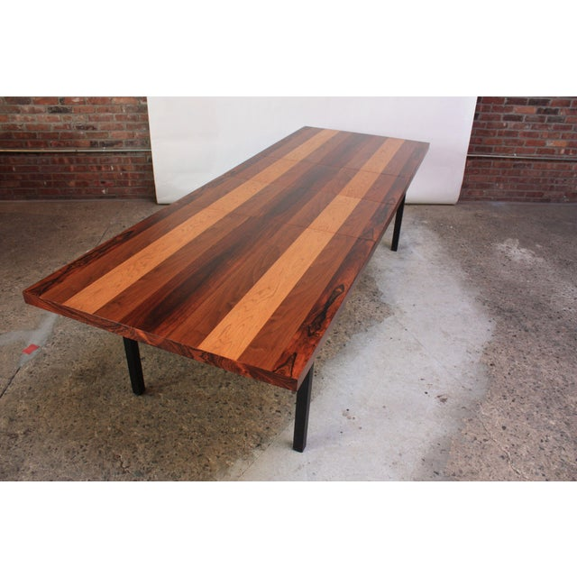 Directional Mixed-Wood Dining Table by Milo Baughman - Image 13 of 13