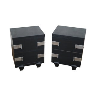 James Mont-Style Nightstands- A Pair For Sale