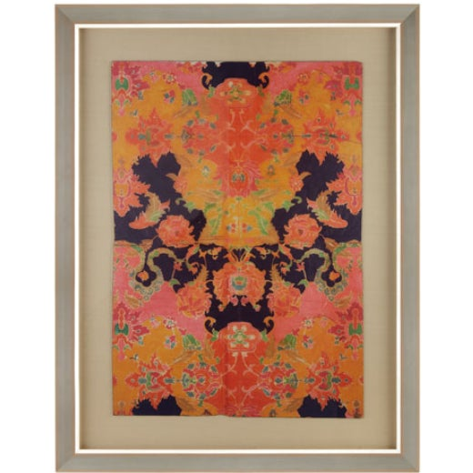 "Horchow ""Indian Batik"" Giclee Print - Image 1 of 2"