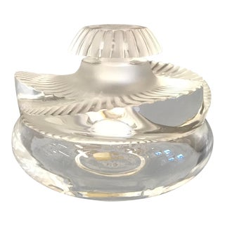 Lalique Baptiste Pattern Perfume Bottle For Sale