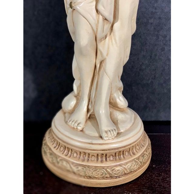 Mid-Century Vintage Tall Venus W/Amphora Cachepot Statue For Sale - Image 4 of 11