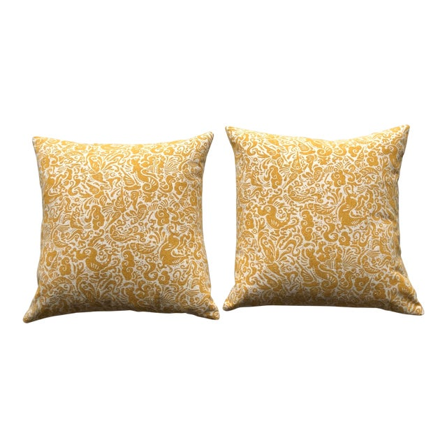 Pair of Zak & Fox Amitan Pillows For Sale
